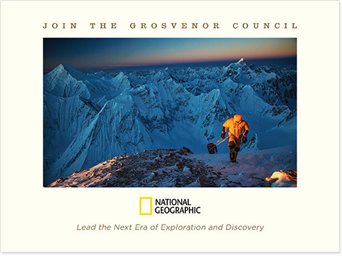 National Geographic brochure