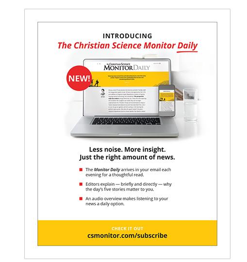 CSM Magazine Ad
