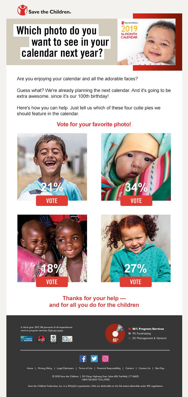 Save the Children ASR Outer Envelope